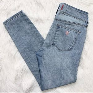 Guess Ankle Length Emma Skinny Jeans